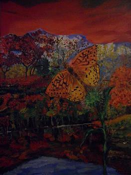Fly Butterfly by Rozenia Cunningham