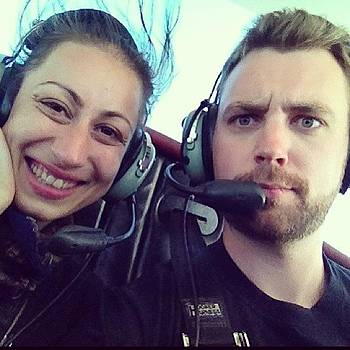 #flying #biplane #ride #vacation With by Megan Rudman
