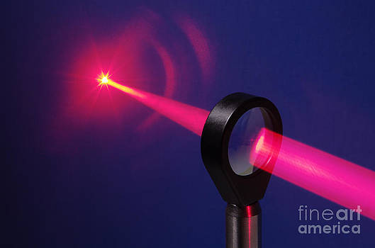 GIPhotoStock - Focusing Laser Light