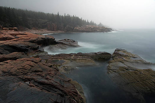 Juergen Roth - Fog at Acadia National Park