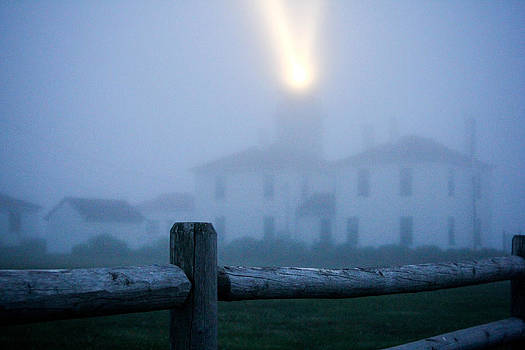 Foggy day at the lighthouse by Allan Millora Photography