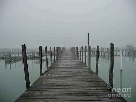 Foggy Dock by Pete Dionne
