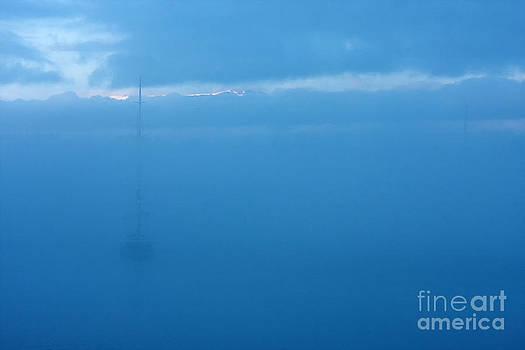 Foggy morning at sea by Robert Wirth
