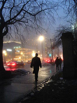 Alfred Ng - foggy night in Toronto
