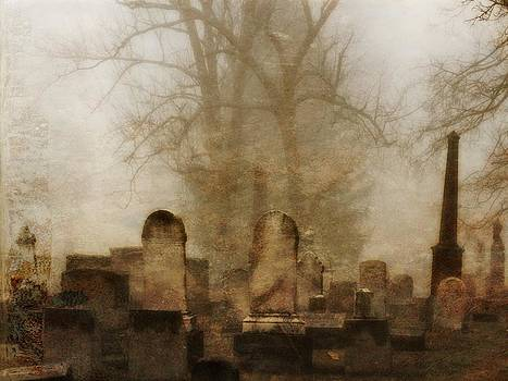 Gothicolors Donna Snyder - Foggy Old Graveyard