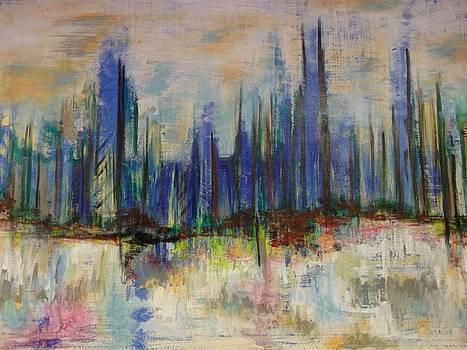 Foggy River Morning by Karen Lillard