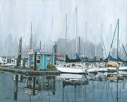Foggy September Morning by Susan Fox