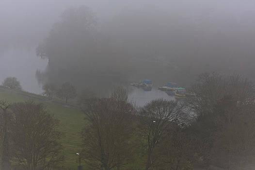 Foggy Thames by Maj Seda