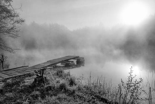 Fog sunrise by Yevgeni Kacnelson