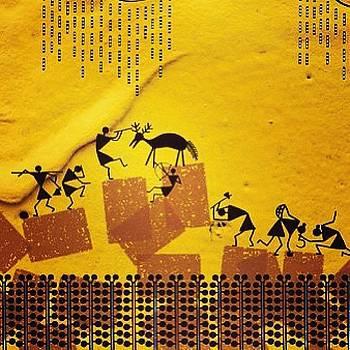 Folk Art Painting by Subhash Limaye