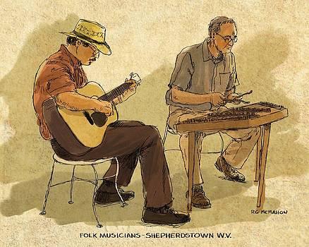 Folk Musicians by RG McMahon