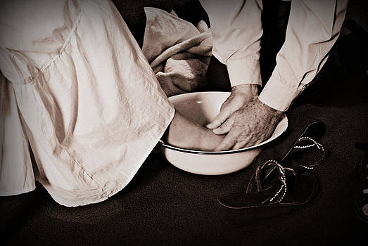 Foot Washing by Stephanie Grooms