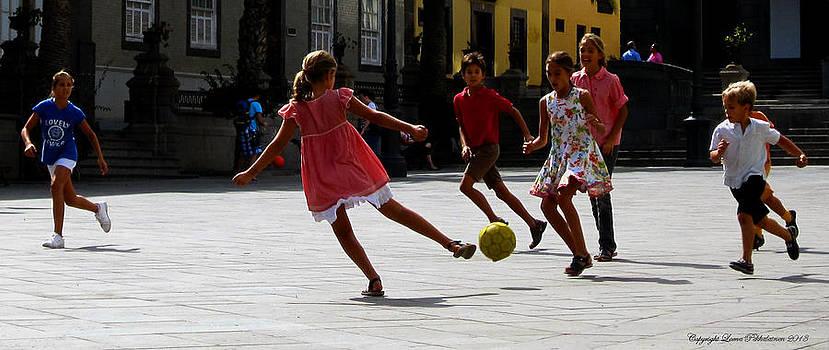 Football by Leena Pekkalainen