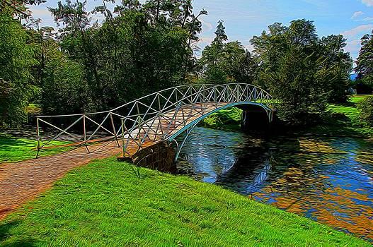 Footbridge 2 by Ron Harpham