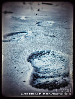 Footprints In The Snow by Jared Hinkle