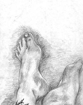 Foots by Adina Bubulina