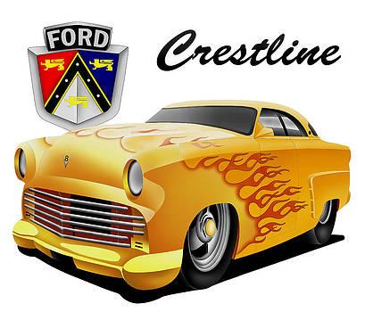Ford Crestline  by Lyle Brown