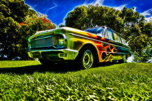 motography aka Phil Clark - Ford Falcon Station Wagon