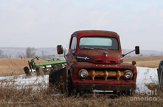 Ford Farm 2 by Marianne Kuzimski