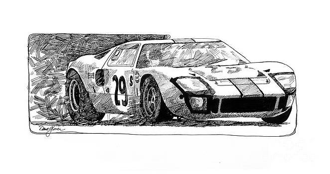 David Lloyd Glover - Ford GT - 40