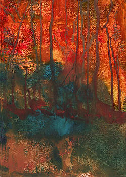 Forest Fire by Anneke Hut