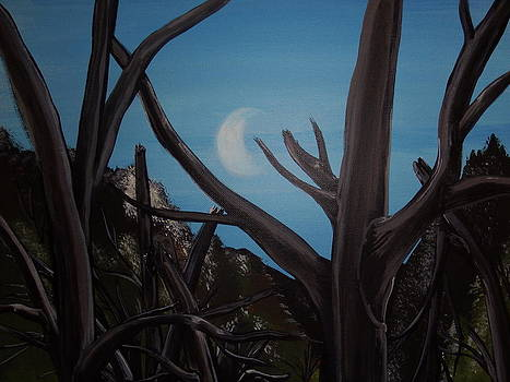 Forest Moon by Gerard Provost