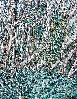 Forest Trees Tangled by Sloane Keats