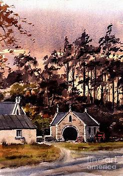Forge in Enniskerry by Val Byrne