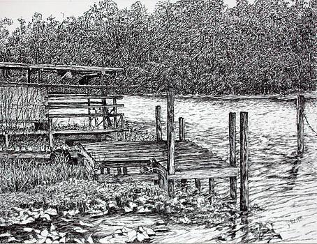 Forgotten Dock by Janet Felts