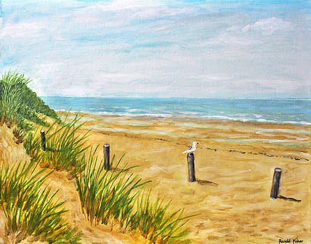 Formby Beach Southport by Ronald Haber
