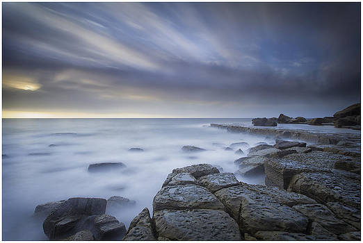 Forresters Beach Sunrise 1 by Steve Caldwell