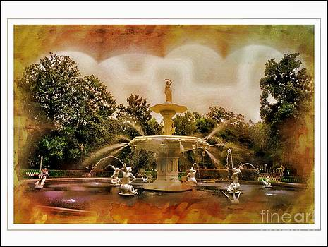 Forsyth Park Fountain by Kathleen Struckle