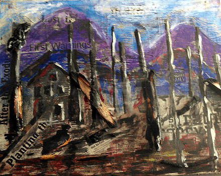 Fort Collins Colorado - After the Fire  by Glenda Kotchish