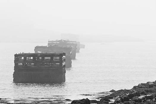 Steven Ralser - Fort Foster Pylons - Kittery - Maine