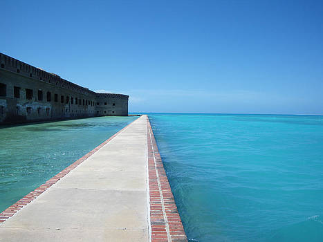 Fort Jefferson Sea Wall by Greg Graham