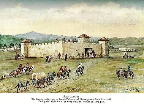 REPRODUCTION - Fort Laramie - 1846