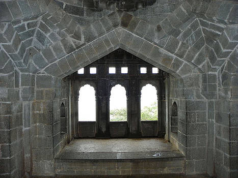 Fortress Window by Nandan NAGWEKAR