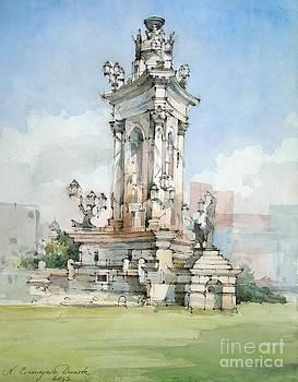 Fountain- Placa d' Espanya - Barcelona by Natalia Eremeyeva Duarte