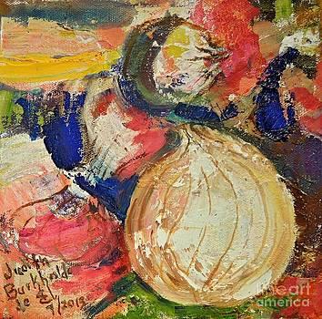 Four Onions by Judith Espinoza