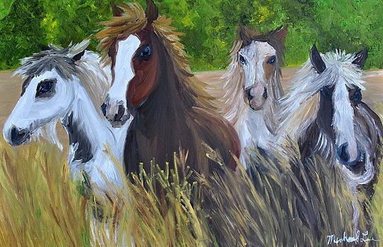 Four Paints by Michael Lee