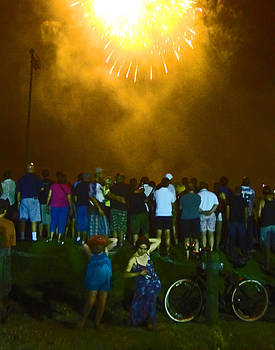 Fourth of July in New Orleans by Louis Maistros