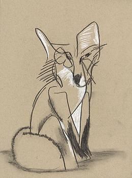 Fox Study 1 by Drew Eurek