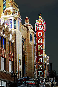 Wingsdomain Art and Photography - Fox Theater . Oakland California