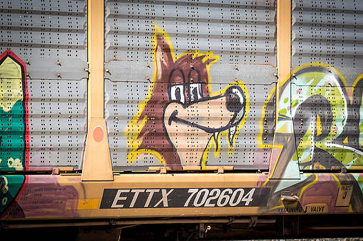 Foxed Up Train Art by Laurel Butkins