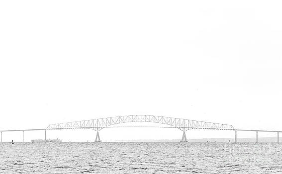 Francis Scott Key Bridge by Paul Frederiksen