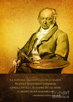 Francisco Goya quote by Theodora Brown