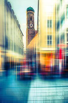 Hannes Cmarits - Frauenkirche - Munich V - vintage