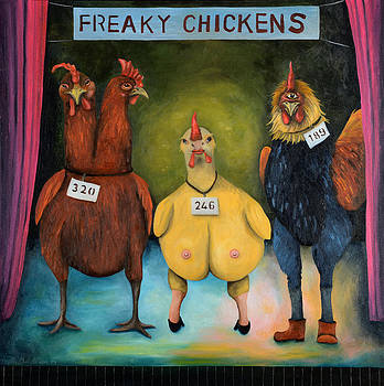 Leah Saulnier The Painting Maniac - Freaky Chicken Competition