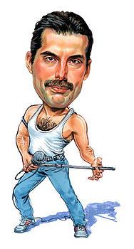 Freddie Mercury by Art