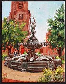 Edward Williams - Frederick City Hall Fountain